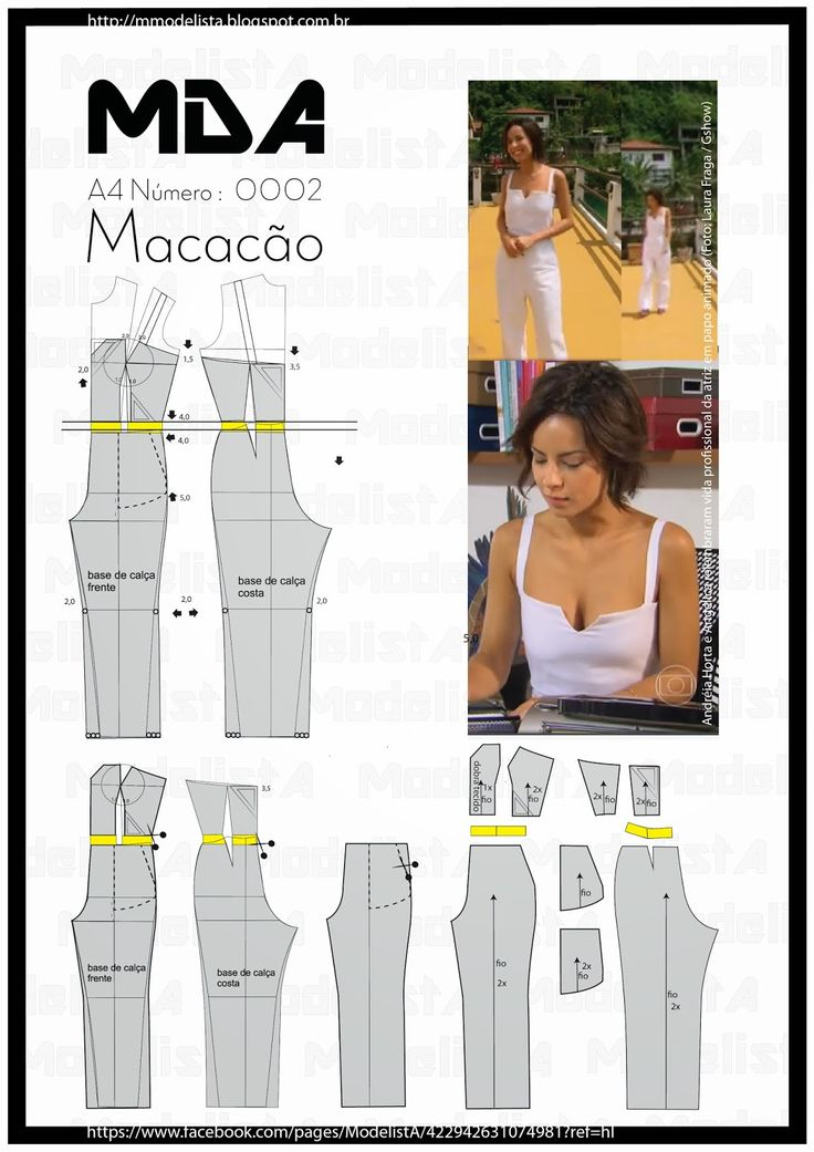 ModelistA- Macacão