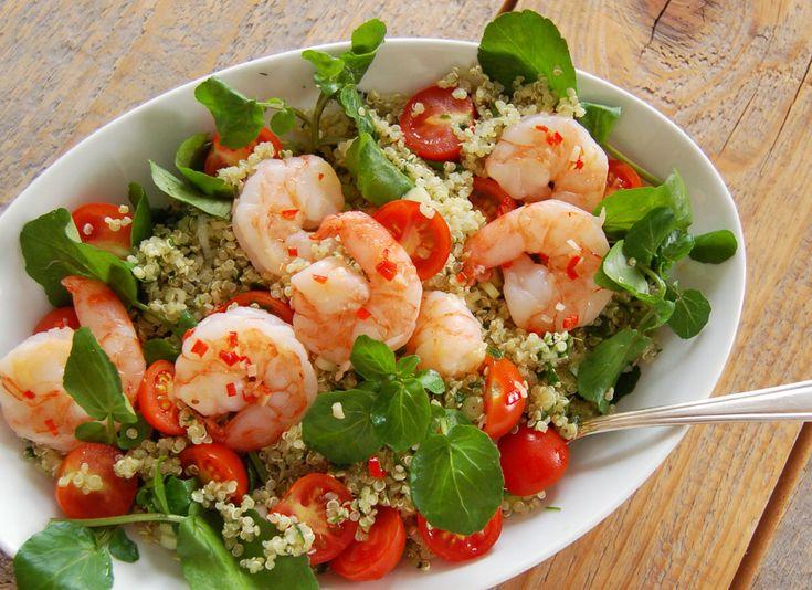 Lekkere en gezonde salade met een speciale graanvervanger