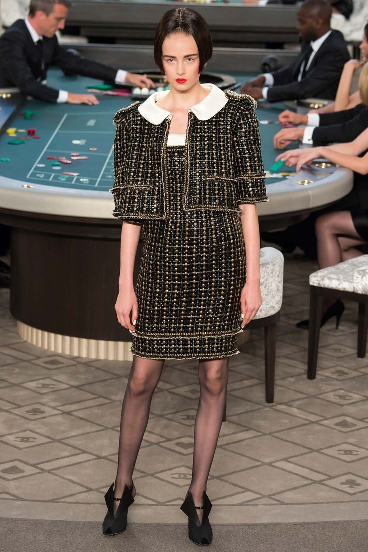 Chanel Fall 2015 Couture Fashion Show - Baya Kolarikova (Elite)