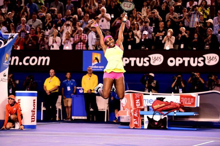 FOTOS: Serena Williams bate Sharapova mais uma vez e fica com título - fotos em tênis