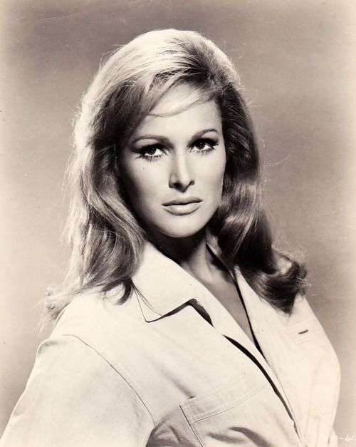 Ursula Andress. Ursula Andress (born 19 March 1936) is a Swiss actress and sex symbol of the 1960s.[1] She is known for her role as Bond girl Honey Ryder in the first James Bond movie, Dr. No (1962), for which she won a Golden Globe. She later starred as Vesper Lynd in the Bond-parody Casino Royale (1967)