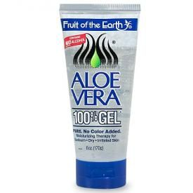 Fruit Of The Earth Aloe Vera 100% Gel Crystal Clear from Walgreen's