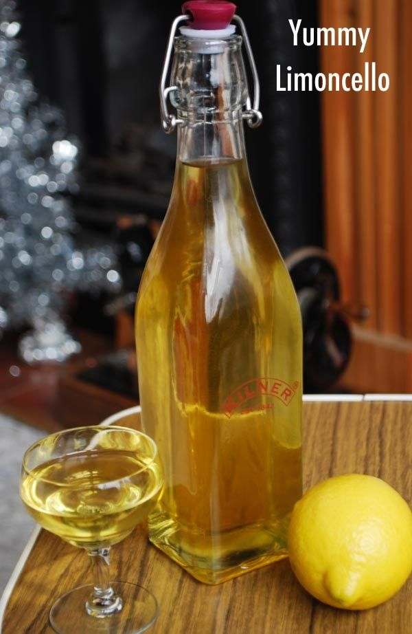 Limoncello with Vodka:  15 organic lemons 2 (750-milliliter) bottles 151- or 190-proof grain alcohol, such as Everclear (see page 11) 4 cups granulated sugar 9½ cups water