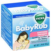 Vick's Baby Rub. Our Cure All!