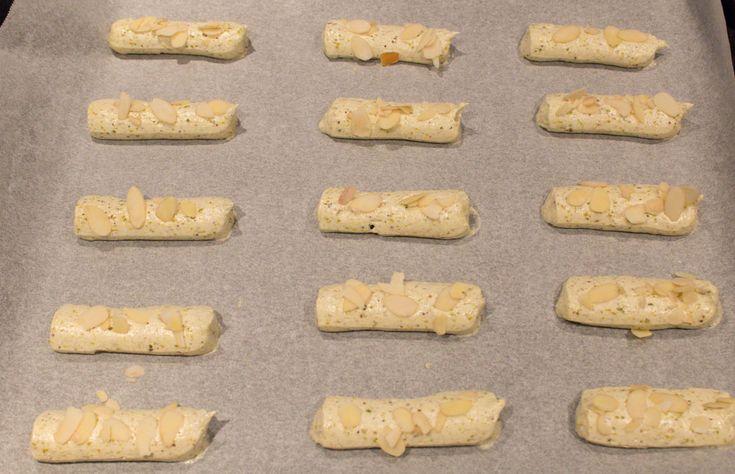 biscotti ai pistacchi in forno