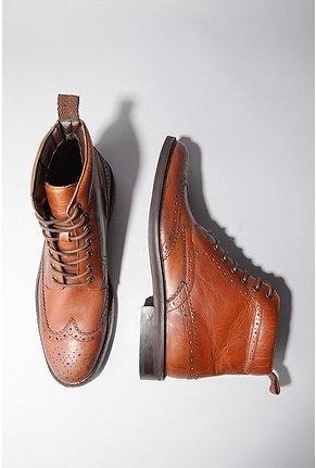 Wingtip boots. got 'em