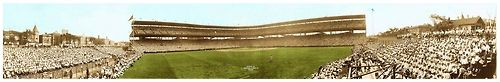 1929 Wrigley Field Panoramic 85 Years Ago Today - Chicago - July 27, 1929  ~ Saturday Afternoon Double Header - Philadelphia Phillies vs. Chicago Cubs (Cubs Win! 10-7, 6-1)