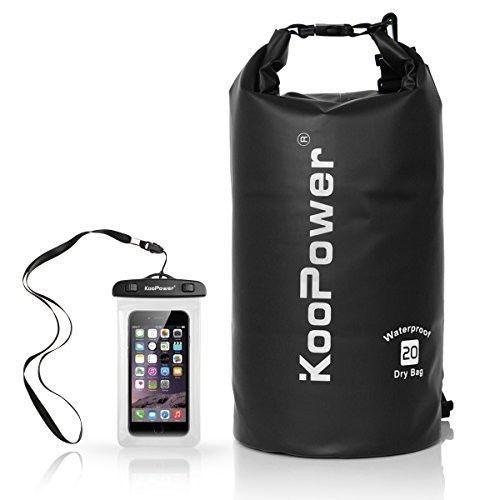 Waterproof Phone Case Dry Bag Sack 20L Dry Backpack Boating Kayaking Fishing NEW #WaterproofPhoneCase