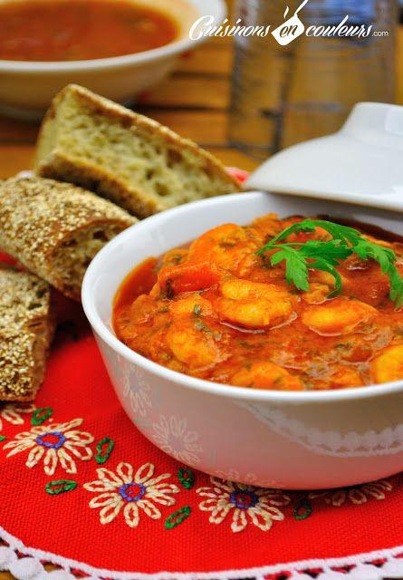 Cuisinons en Couleurs: Crevettes Pil Pil: Cuisinons En, Crevettes Pilpil, Crevett Pilpil, Color, Pil Pil, Cuisinon En, Marocaine Crevettes, Labels Cuisine Marocaine, Pilpil Cuisinons