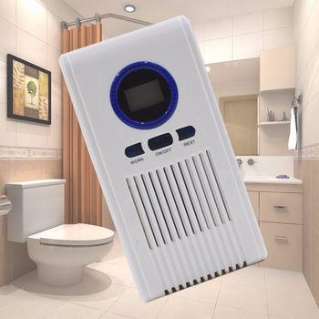 Generador de ozono Purificador de Aire Baño Desinfectante Máquina Del Filtro de Aire para Baño Bastidores de Zapatos con Pantalla LED Función de Temporización