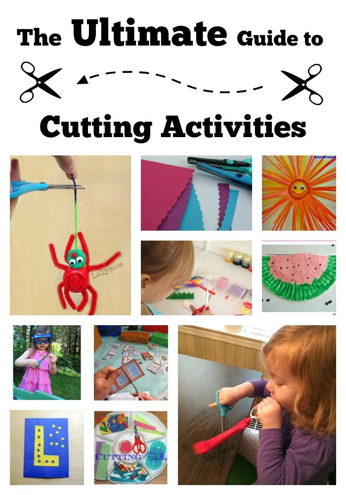 Ultimate Guide to Cutting Activities for Preschoolers and Kindergartners
