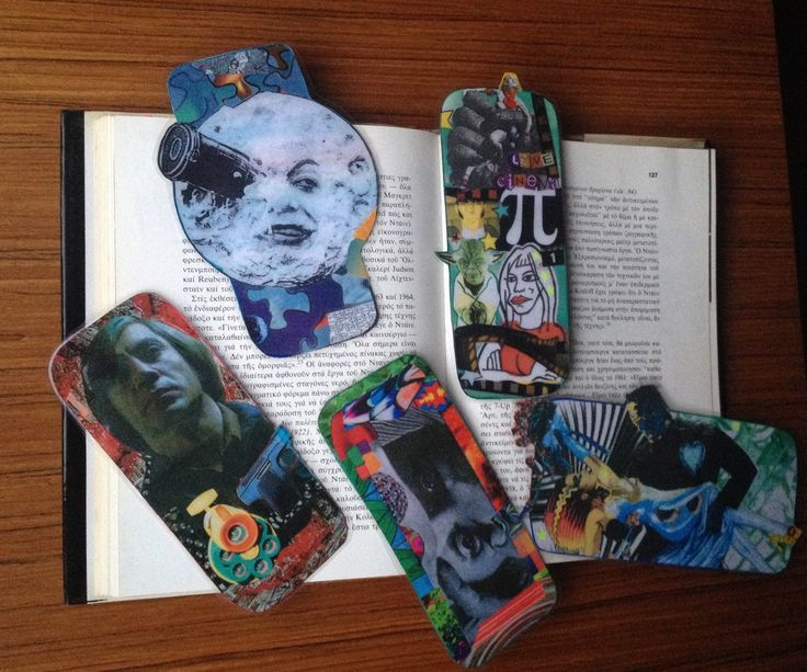 A personal favorite from my Etsy shop https://www.etsy.com/listing/241573829/bookmarks-with-movie-themes-handmade