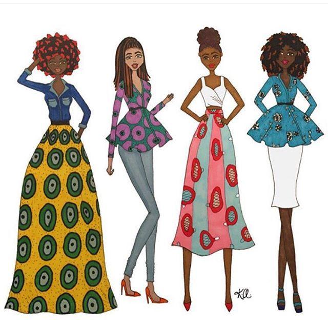 Illustration Fashion Design Sketches