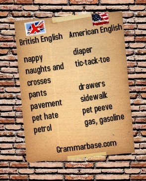 differences between british and american english essay Free essays on conclusion between american english and british english get help with your writing 1 through 30.