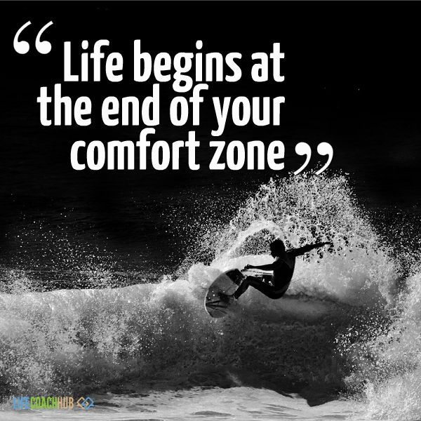 Are you in your comfort zone? Time to change that! Learn why it's important to EARN it. https://www.lifecoachhub.com/coaching-articles/earn-your-piece-of-mind-life-begins-at-the-end-of-your-comfort-zone