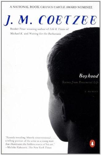 Boyhood: Scenes From Provincial Life by J. M. Coetzee, http://www.amazon.com/dp/014026566X/ref=cm_sw_r_pi_dp_9ut5pb1K4VNN4