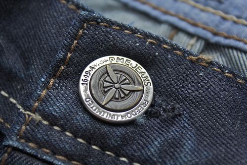 Detail of my new PME Bare Metal jeans