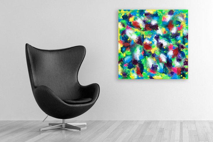 HOME DECOR WITH PAINTINGS !  Alteration IV  My website: https://artbylonfeldt.dk/  #art #arts #paintings #painting #fineart #artbylonfeldt