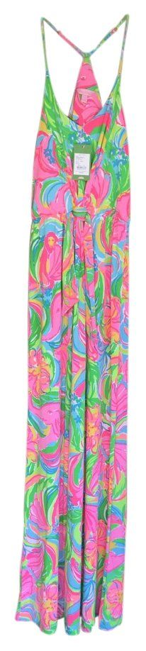 So A Peeling Multi Colored Lilly Pulitzer $125 ** Free Shipping ** New W/ Tags Size S Racer Back Rosa Maxi Dress. Free shipping and guaranteed authenticity on So A Peeling Multi Colored Lilly Pulitzer $125 ** Free Shipping ** New W/ Tags Size S Racer Back Rosa Maxi Dress at Tradesy. The Rosa Maxi Dress is a printed strappy maxi dres...