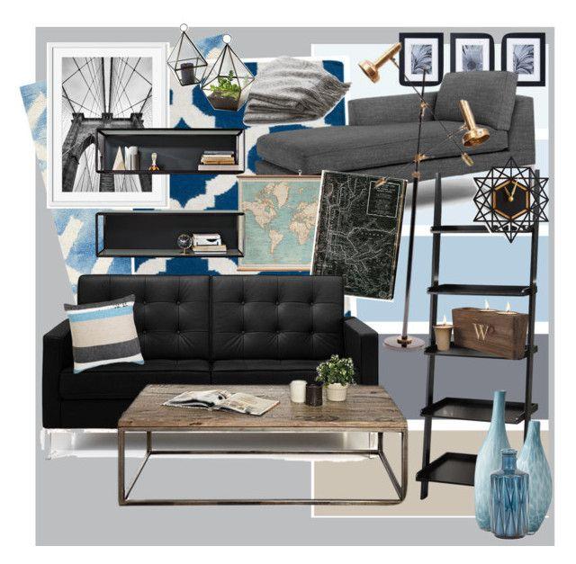 """Untitled #10"" by sabrina-sultzer on Polyvore featuring interior, interiors, interior design, home, home decor, interior decorating, Safavieh, Surya, Mikasa and West Elm"