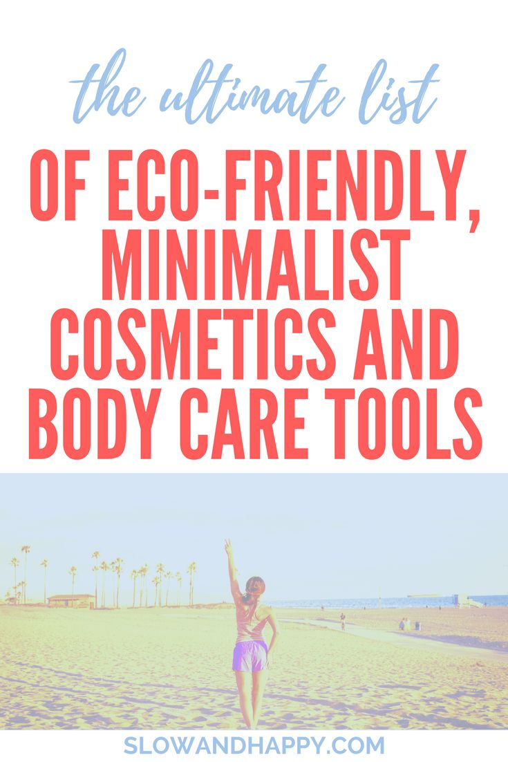 All You Need: 14 Eco-Friendly Minimalist Toiletries - on the Slow and Happy blog about simple life. minimalist toiletries | minimalist cosmetics | simple cosmetics | simple toiletries | toiletries list packing | toiletries list travel | eco cosmetics | eco toiletries #bodycare #simplebodycare #minimalist #ecofriendly Click to read the article!