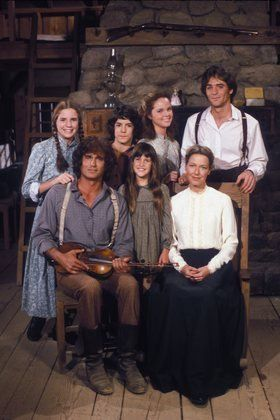 Little House on the Prairie..watched  over & over and read the books.