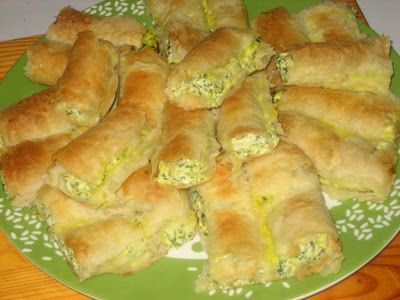 Pita or savoury strudel is, kind of, fast food in Bosnia. I already mentioned different kinds of pita in one of my earlier post, Strawberr...