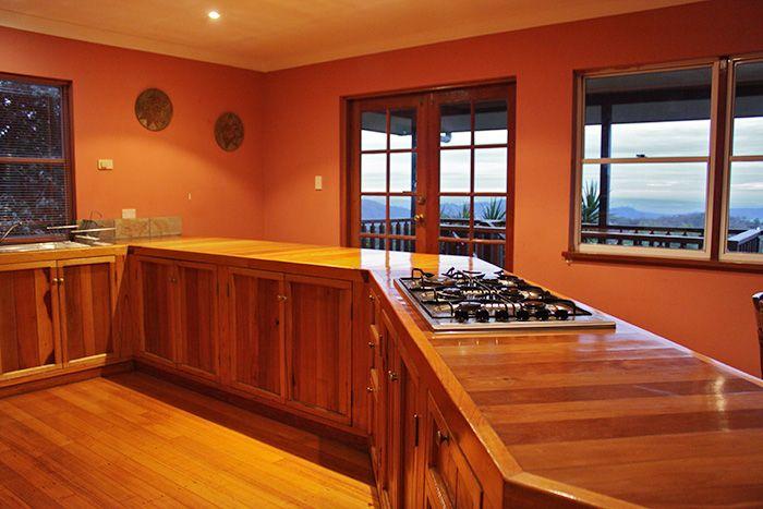 Paradise Views Timber Kitchen