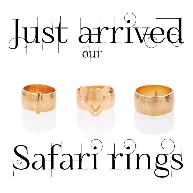 Safari rings <3