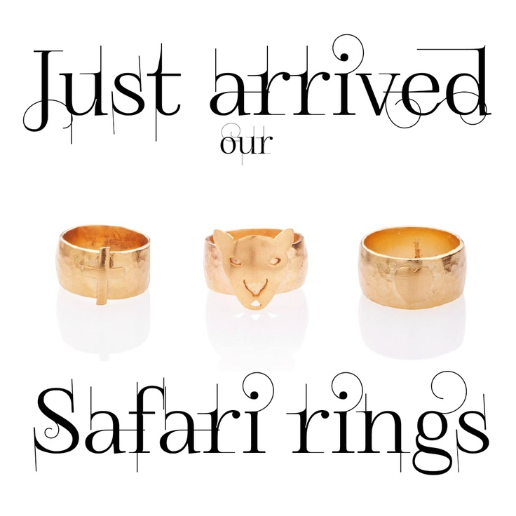 Safari rings <3