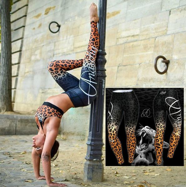 ✅30% SALE STOREWIDE. Code:SAVE30✅ . ANARCHY Apparel Ocelot Leggings  S/Bra..An 'Ocelot' is a small jungle cat with attitude bigger than a leopard... Show off your attitude with matching sports bra and leggings - sold separate. . Find your perfect workout Outfit:⬆️⬇️ www.gymandfitnessfashion.com.au  @gymandfitnessfashion.com.au .