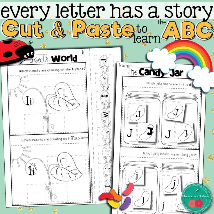 Letter Sorts | Letter recognition worksheets, Letter sort