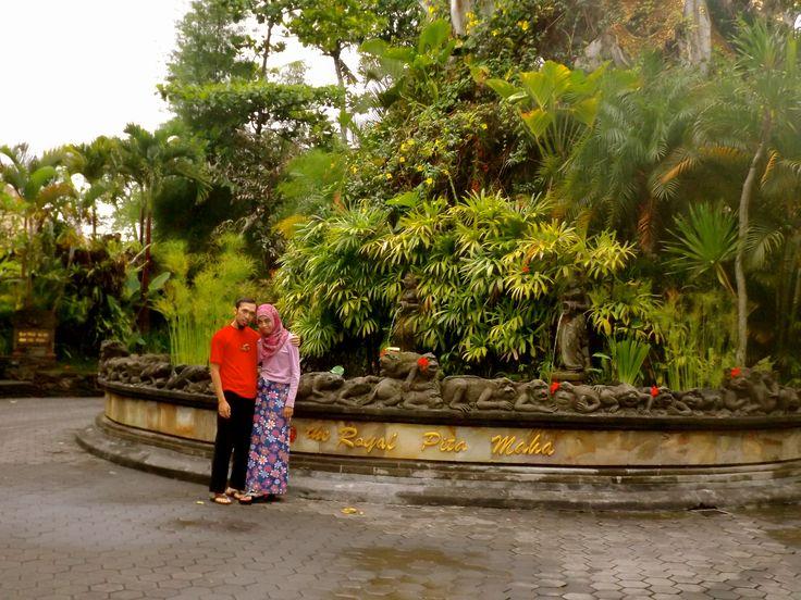 me and my hubby on Park at The Royal Pita Maha Resort, Bali. #ALIKA
