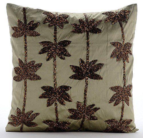Sage Green Pillows Cover, Zardozi Lotus Flower Antique Pi... https://www.amazon.com/dp/B016H8UMSI/ref=cm_sw_r_pi_dp_x_96laybFNMNRVD