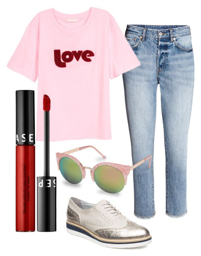 """""""#love 💘"""" by stinasolheim on Polyvore featuring Tamaris and Sephora Collection"""