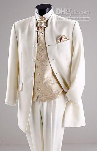 ivory and gold wedding tuxedos - Google Search