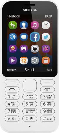 """Nokia 222 Dual SIM (белый)  — 3390 руб. —  ФОТОГРАФИРУЙТЕ И ОБМЕНИВАЙТЕСЬ СНИМКАМИ Фотографируйте с помощью Nokia 222 Dual SIM все, что происходит вокруг. Двухмегапиксельная камера позволяет делать отличные снимки. Используйте Facebook или GroupMe by Skype для обмена фотографиями с друзьями и близкими. ИНТЕРНЕТ В ВАШЕМ ТЕЛЕФОНЕ Находите нужную информацию с помощью браузера Opera Mini, приложения """"MSN Погода"""" и поисковой системы Bing. Общайтесь с друзьями и узнавайте новости с помощью…"""