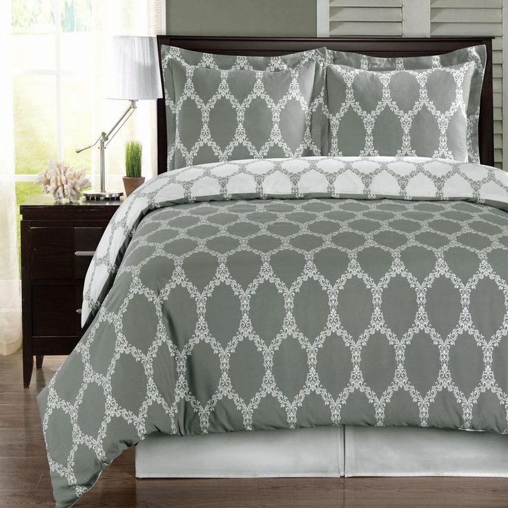 Brooksfield Gray and White 3 Pieces King California King Duvet Cover Set  300 TC   eBay. 17 best ideas about California King Duvet Cover on Pinterest