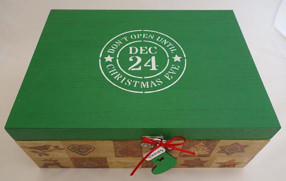Christmas Eve Box  Green