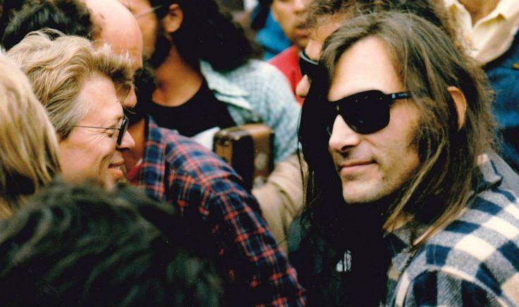 John Cipollina with Jack Casady in Golden Gate Park 1985