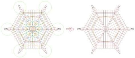 Arquitectura sagrada y la trama básica