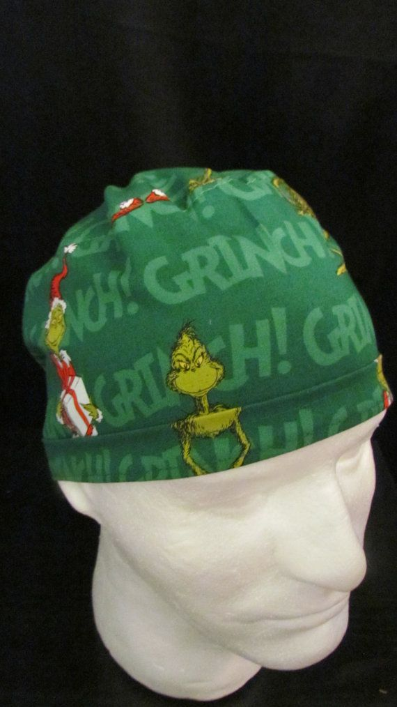 The Grinch that Stole Christmas Green Santa Tie Back by TipTopLids