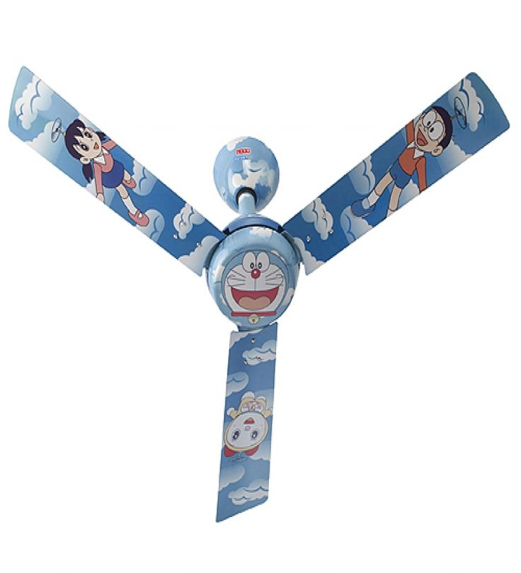 Kids Ceiling Fans : Usha Kids Ceiling Fan Doraemon Copter Usha Kids Ceiling Fan