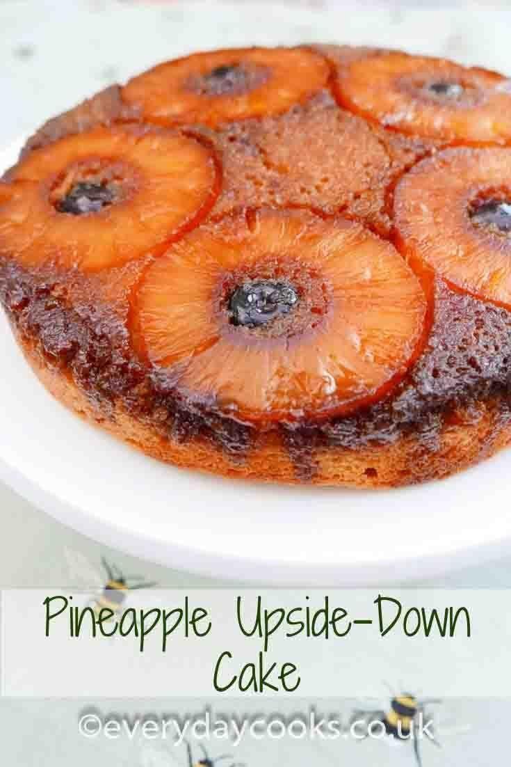 Pineapple Upside Down Cake Recipe Cake Recipes Uk Pineapple
