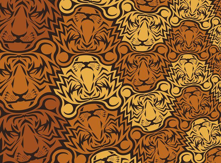 Tiger Tessellation on Behance