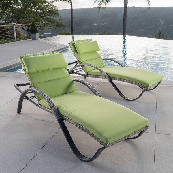 Castelli Sun Lounger Set With Cushions In 2021 Sun Lounger Outdoor Patio Chaise Lounge Patio Chaise Lounge