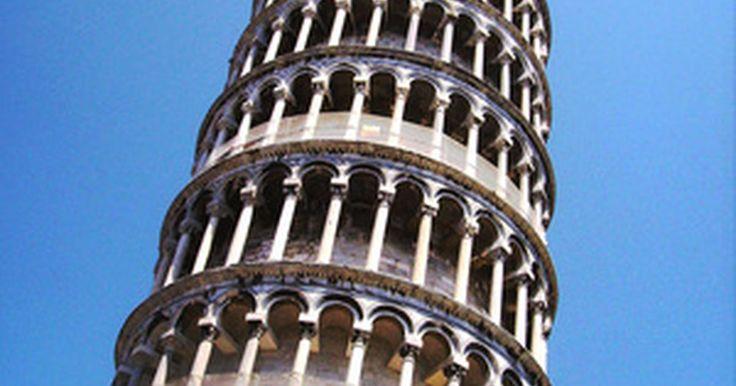 Como construir uma Torre de Pisa de palitos de picolé. Fazer um modelo da Torre inclinada de Pisa é um projeto artístico criativo e divertido. Construí-la vai ajudar você e seus filhos a aprenderem mais sobre a torre e será uma maneira divertida de gastarem o tempo juntos. Usando palitos de picolé, você pode construir uma grande réplica dela que parecerá impressionante. Ao cortar a base, é possível ...