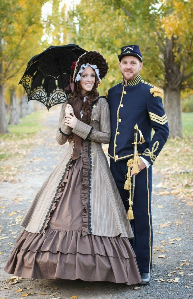 Civil War Couple Couple's DIY Halloween Costumes DIY