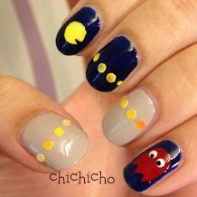 The 25 best pac man nails ideas on pinterest mens nails men nail art tutorials for hundreds of designs and also some random things about food and travelling prinsesfo Image collections