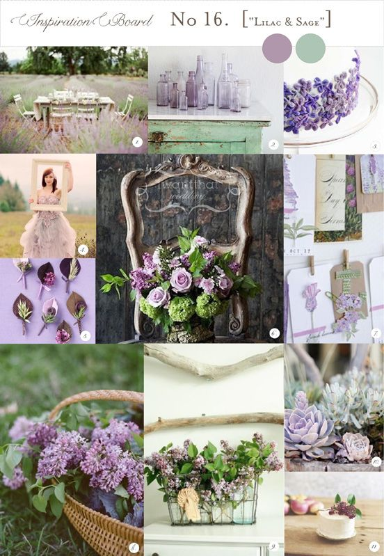 A great colour combination if you are going for a feminine, country feel for your wedding. Lavendar also brings in a lovely smell to the arrangements.